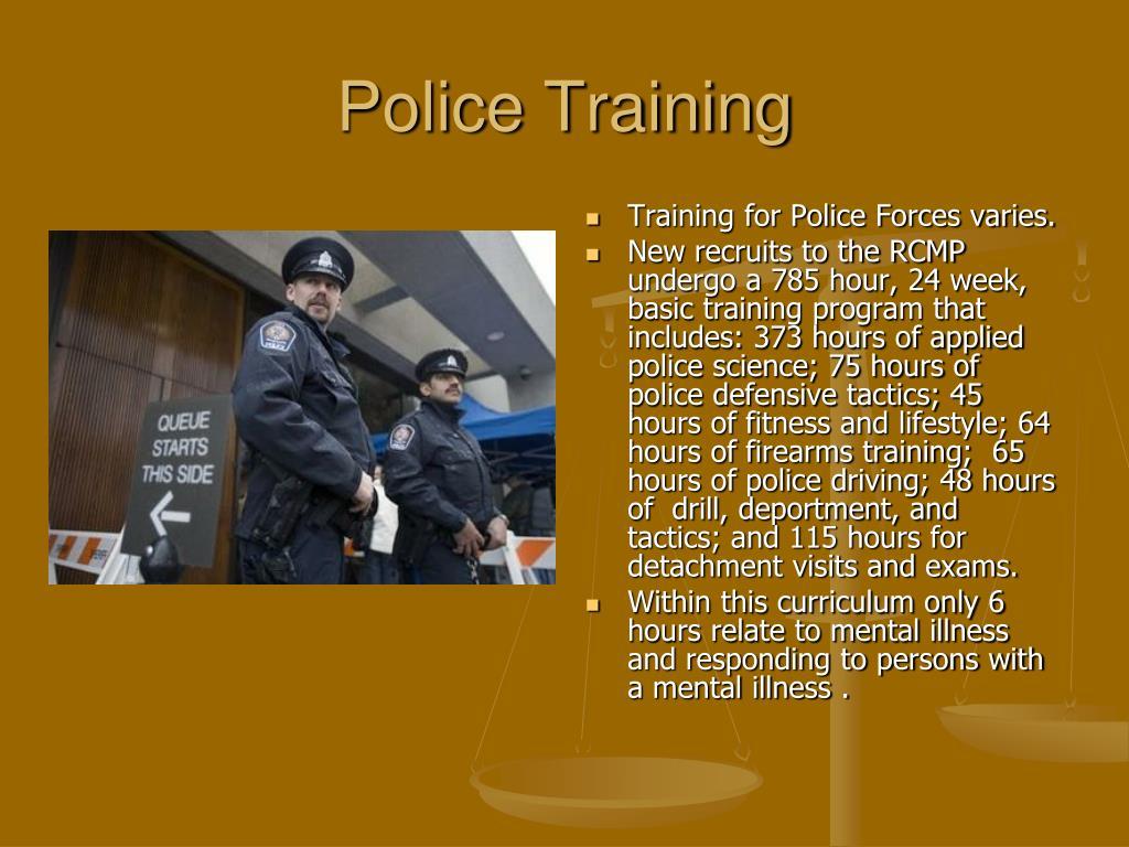 Police Training