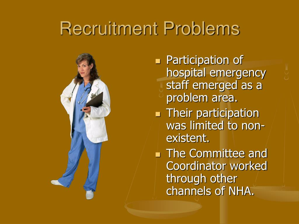 Recruitment Problems