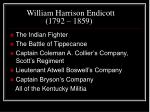 william harrison endicott 1792 18592