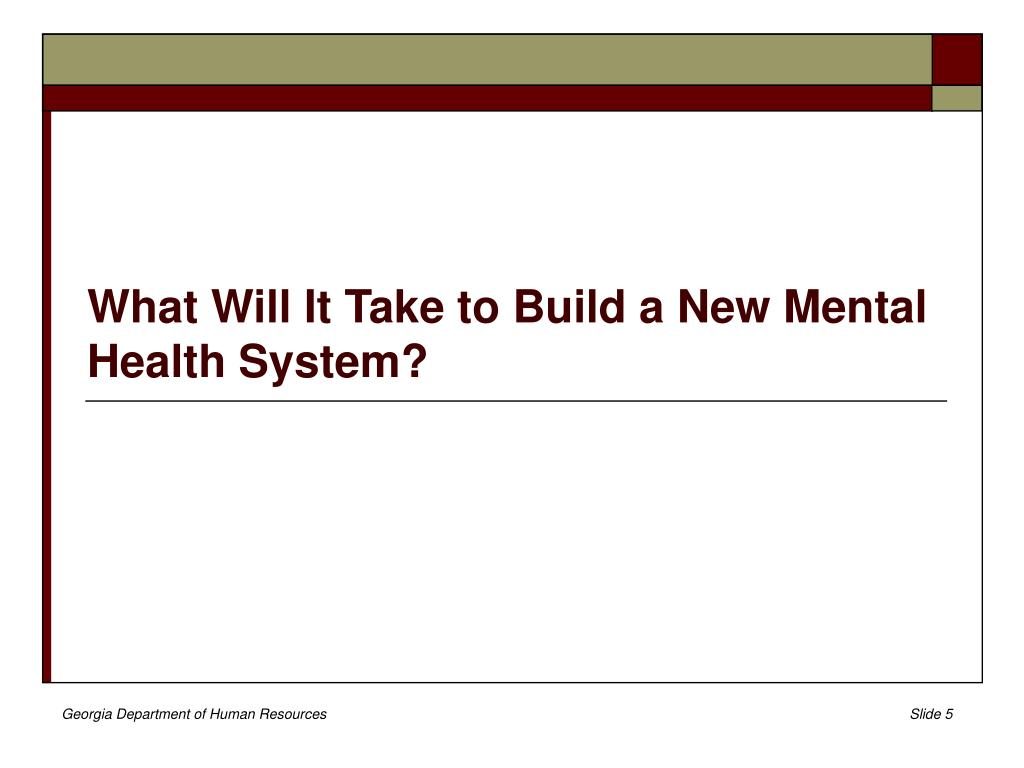 What Will It Take to Build a New Mental Health System?