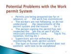 potential problems with the work permit system