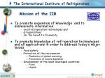 mission of the iir