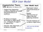 gea user model