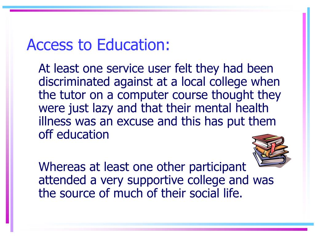 Access to Education: