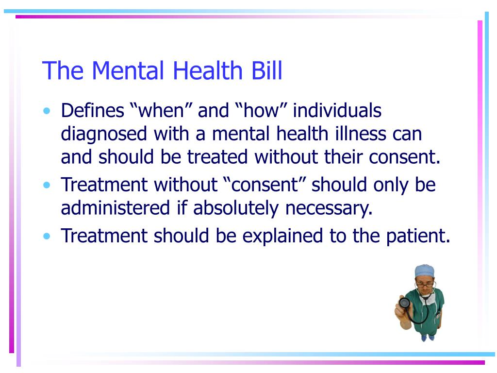The Mental Health Bill