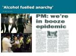 alcohol fuelled anarchy the age 21 02 08