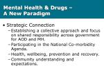 mental health drugs a new paradigm