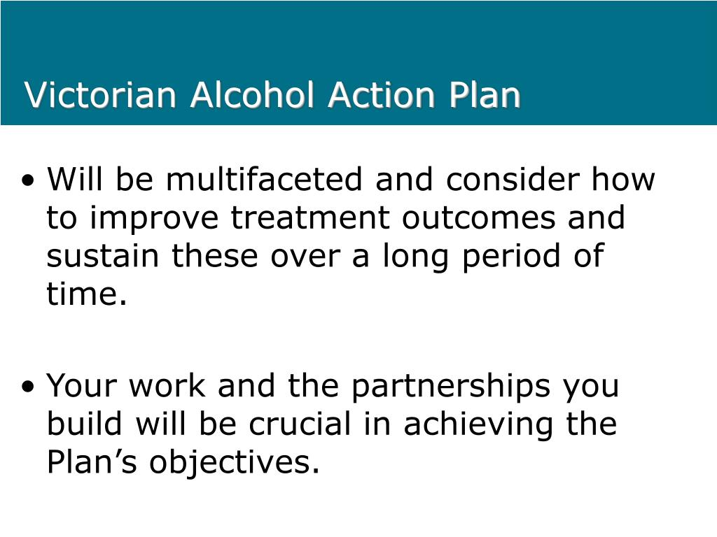 Victorian Alcohol Action Plan
