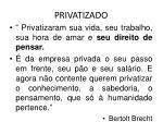 privatizado