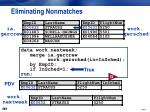 eliminating nonmatches2