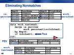 eliminating nonmatches4