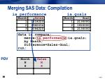 merging sas data compilation1