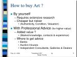 how to buy art