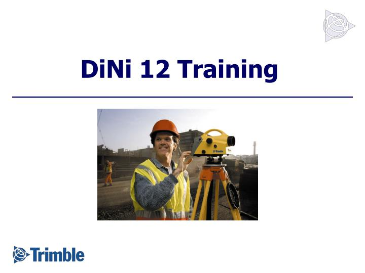 dini 12 training n.