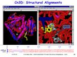cn3d structural alignments