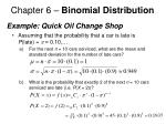 chapter 6 binomial distribution12