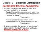 chapter 6 binomial distribution21