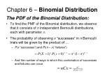 chapter 6 binomial distribution8