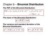 chapter 6 binomial distribution9