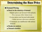 determining the base price1