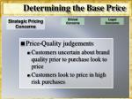 determining the base price11