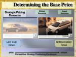 determining the base price6