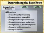 determining the base price7