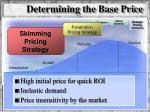determining the base price9