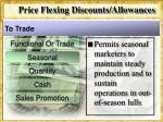 price flexing discounts allowances5