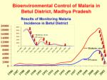 bioenvironmental control of malaria in betul district madhya pradesh