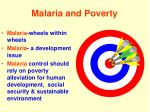 malaria and poverty