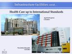 health care up to international standards