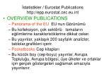 statistikler eurostat publications http epp eurostat cec eu int2