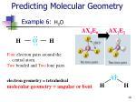 predicting molecular geometry19