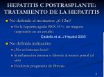 hepatitis c postrasplante tratamiento de la hepatitis1
