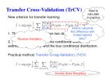 transfer cross validation trcv