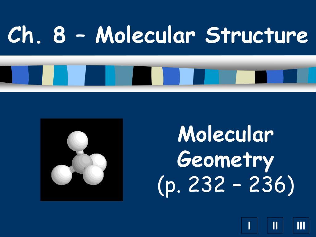 ch 8 molecular structure l.