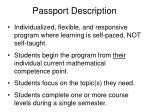 passport description