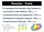 results tools