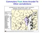 commuters from anne arundel to other jurisdictions