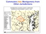 commuters into montgomery from other jurisdictions
