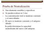 prueba de neutralizaci n