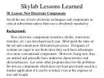 skylab lessons learned
