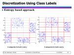 discretization using class labels