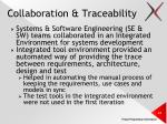 collaboration traceability