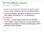 the roadrunner system crescenzi et al vldb 01