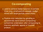 co composting