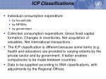 icp classifications