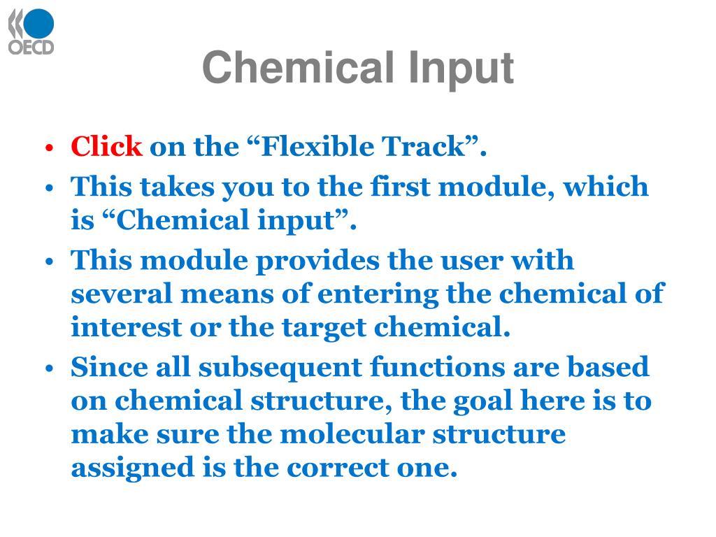 Chemical Input