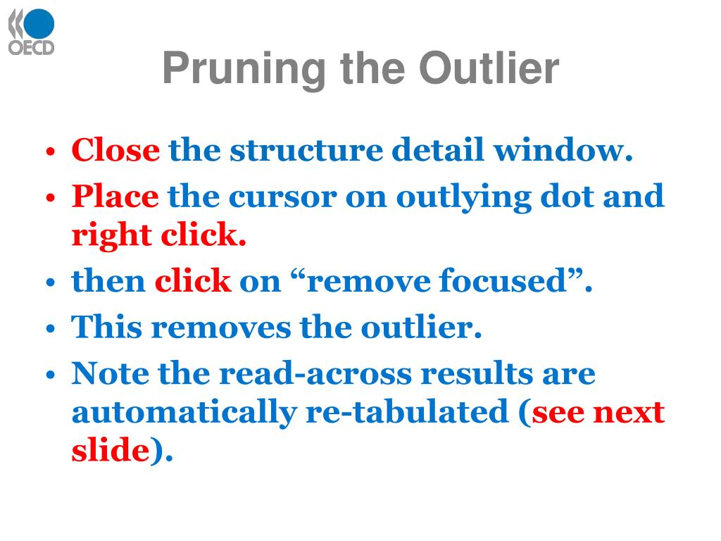 Pruning the Outlier